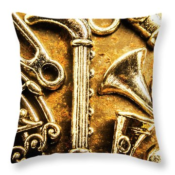 A Classical Composition Throw Pillow