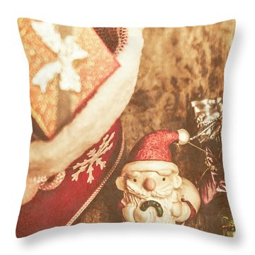 A Clause For A Merry Christmas  Throw Pillow