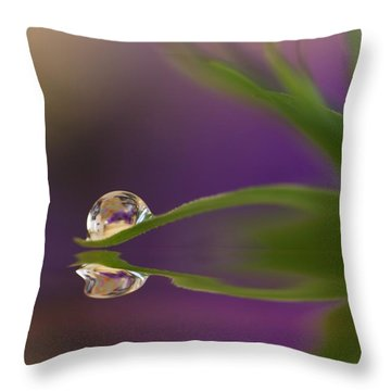 A Colourful Soul Throw Pillow