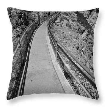A Comfy Way Up Throw Pillow
