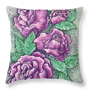A Corsage For Millie Throw Pillow