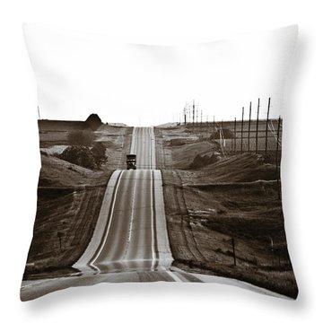 A Country Mile 1 Throw Pillow