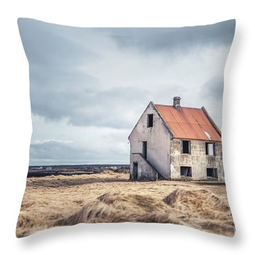 A Crumpled Story Throw Pillow