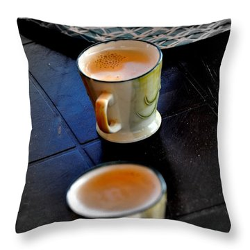 A Cup Full Of Life Throw Pillow