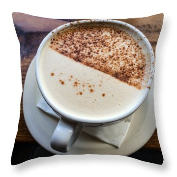 A Cup Of Chai Throw Pillow