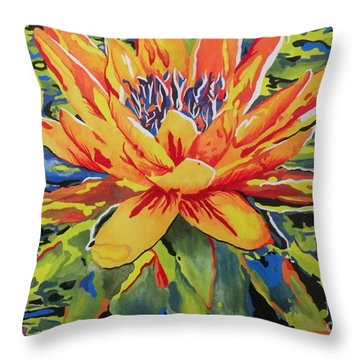 A Dance Throw Pillow by Holly York
