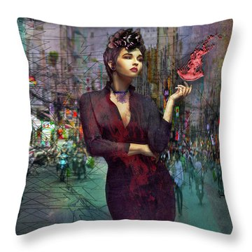 A Dangerous Life Throw Pillow