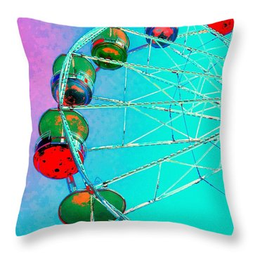 A Day At The Fair Throw Pillow