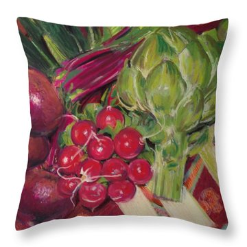 A Day In My Kitchen Throw Pillow