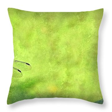 A Day In The Swamp Throw Pillow