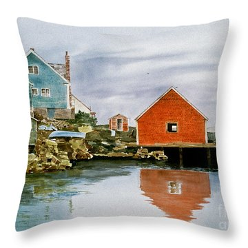 A Day Of Rest Throw Pillow
