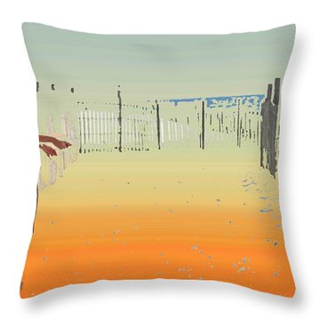 A Day To Enjoy Throw Pillow