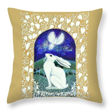 A Deep Thought Throw Pillow