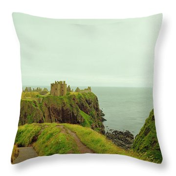 A Defensible Position Throw Pillow