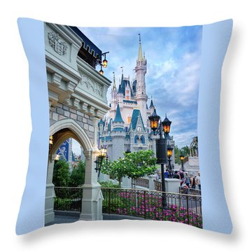 A Different Angle Throw Pillow by Greg Fortier