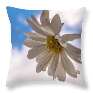 A Different Daisy Throw Pillow