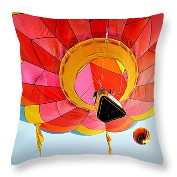 Throw Pillow featuring the photograph A Different Point Of View  by AJ Schibig