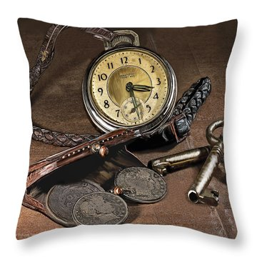 A Different Time Throw Pillow by Mark Allen