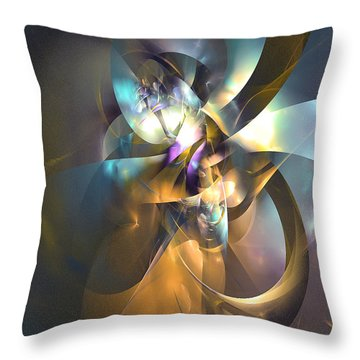 A Distant Melody Throw Pillow