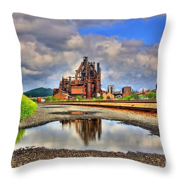 A Distant Memory Throw Pillow