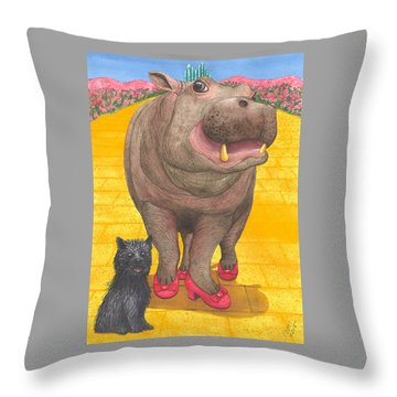 A Dorothy Moment Throw Pillow