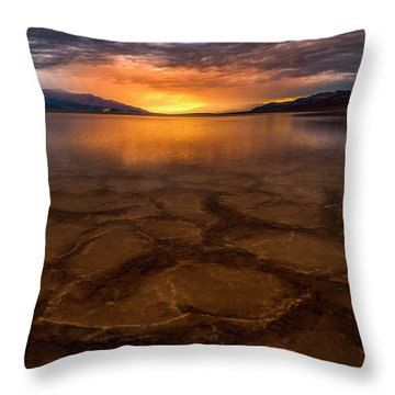 A Dream's Requiem  Throw Pillow by Bjorn Burton