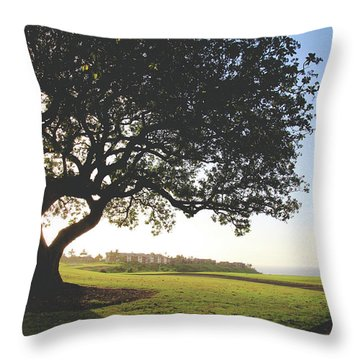 Throw Pillow featuring the photograph A Dreamy Dream by Laurie Search