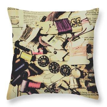 A-dressing Fashion Design Throw Pillow