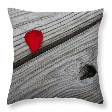 A Drop Of Color Throw Pillow