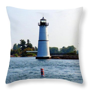A. E. Vickery Throw Pillow