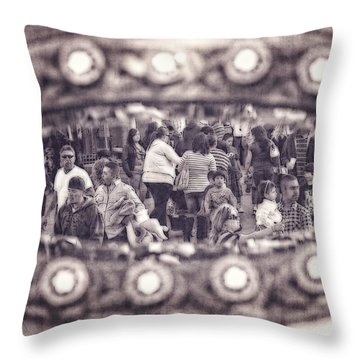 A Fair Day Throw Pillow by Caitlyn  Grasso