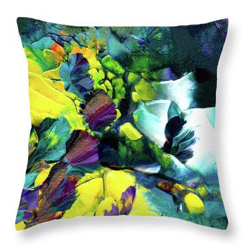 A Fairy Wonderland Throw Pillow