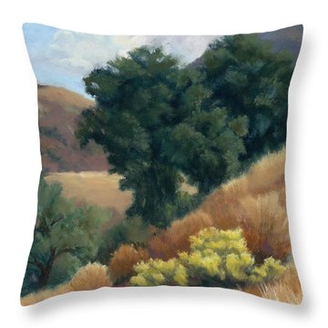 A Fall Day At Whitney Canyon Throw Pillow