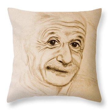 A Familiar Face Throw Pillow