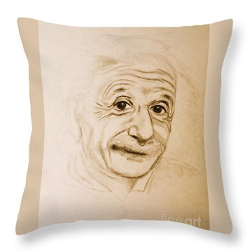 A Familiar Face Throw Pillow