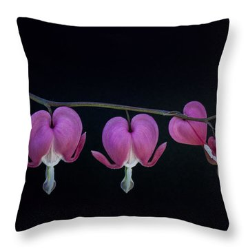 A Family Of Hearts Throw Pillow
