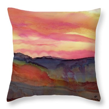 A Far Cry From Home Throw Pillow