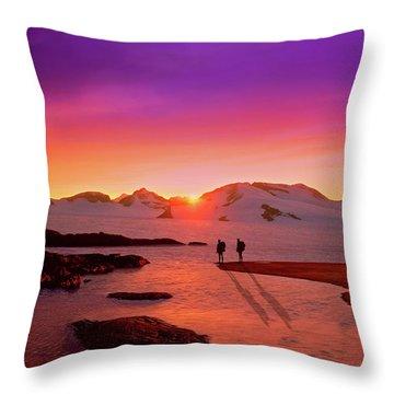 A Far-off Place Throw Pillow