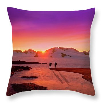 A Far-off Place Throw Pillow