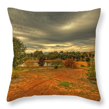 A Farm In Bridgetown, Western Australia Throw Pillow