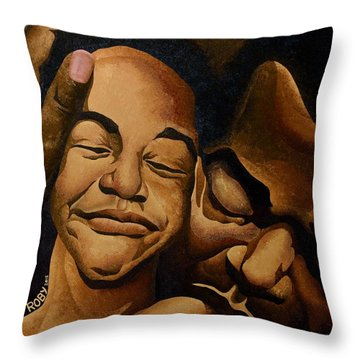 A Father's Love Throw Pillow