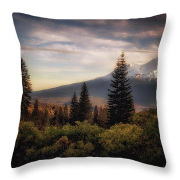 A Favorite View Throw Pillow