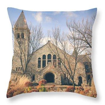 A Fine Autumn Day Throw Pillow