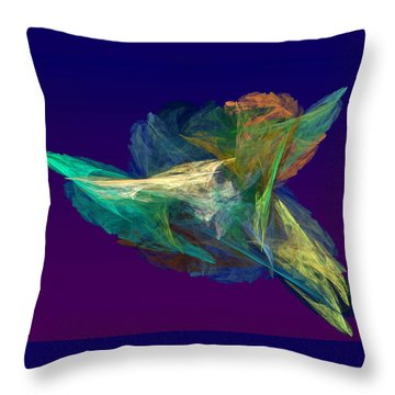 A Fleeting Moment Throw Pillow