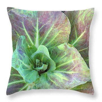A Floral IIi Throw Pillow by Gary Everson