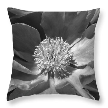 A Flower Of The Heart Throw Pillow