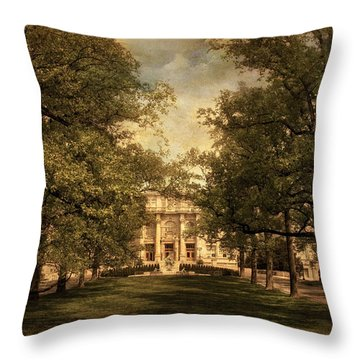 A Formal Passage Throw Pillow by Jessica Jenney