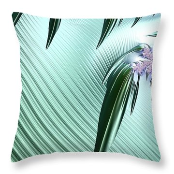 A Fractal Unlilke Any Others Throw Pillow