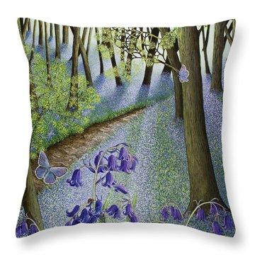 A Fresh Start Throw Pillow by Pat Scott