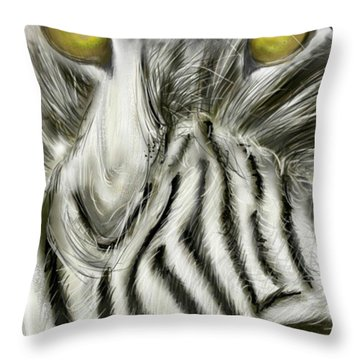 A Friend For Lunch Two Throw Pillow